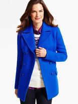 Talbots Double-Breasted Coat