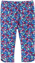 Gymboree Blue Floral Tulip-Hem Leggings - Infant