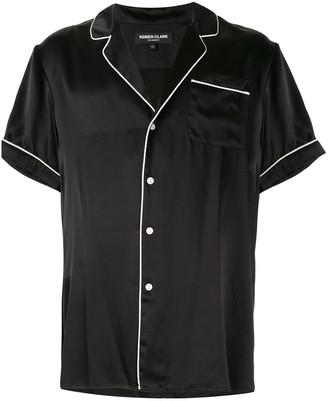 Keiser Clark Silk Pyjama-Style Shirt