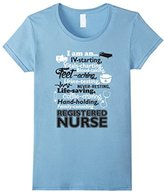 Special Tee Women's I Am An Registered Nurse T-Shirt Small