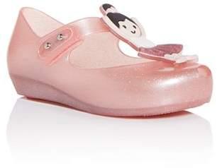 Mini Melissa Girls' Ultragirl Ballerina Mary-Jane Flats - Walker, Toddler