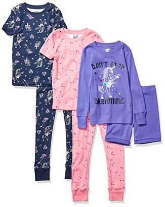 Spotted Zebra 6-piece Snug-fit Cotton Pajama SetXX-Large (14), Pack of 6