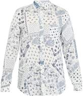 120% Lino 120 LINO Paisley-print linen shirt