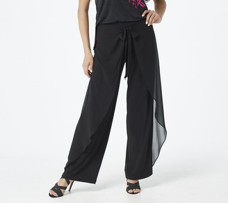 Susan Graver GRAVER Petite Liquid Knit Pull-On Pants