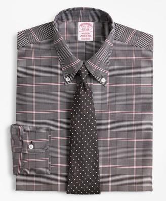 Brooks Brothers Original Polo Button-Down Oxford Madison Classic-Fit Dress Shirt, Glen Plaid