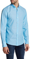 Zachary Prell Collared Woven Trim Fit Shirt
