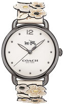 Coach Delancy Ladies'Ion Plated Strap Watch