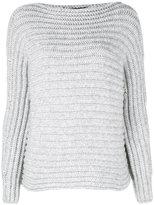 Calvin Klein Collection ribbed jumper - women - Polyamide/Cashmere - M