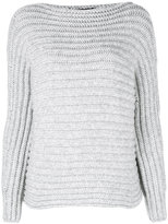 Calvin Klein Collection ribbed jumper - women - Polyamide/Cashmere - S