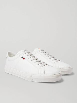 Moncler Monaco Leather Sneakers