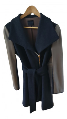 Hotel Particulier Anthracite Leather Coats