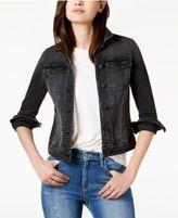 Joe's Jeans Distressed Cotton Denim Jacket