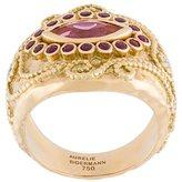 Aurelie Bidermann 'Cashmere' rubellite, diamond and ruby ring