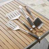 Crate & Barrel Wood-Handled Grill Tools