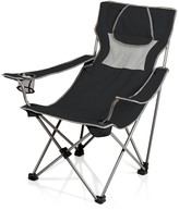Picnic Time 'Campsite' Camp Chair - Black with Grey