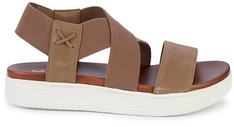 Mia Gizela Wide-Strap Sandals