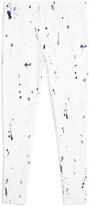 Ralph Lauren Kids Paint Splatter Leggings (5-7 Years)