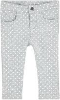 Mayoral Girl slim fit printed fleece pants