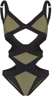 Agent Provocateur Mazzy cut-out swimsuit