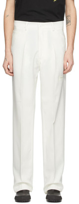Off-White Random Identities High-Rise Five-Pocket Trousers