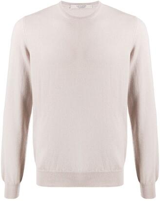 La Fileria For D'aniello Fine Knit Long Sleeve Top