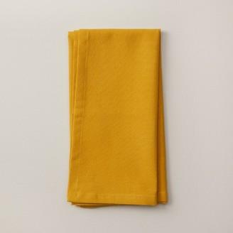 Indigo Mustard Cotton Napkin Set Of 4