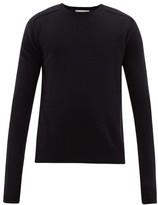 Bottega Veneta - Monogram Intarsia Cashmere Sweater - Mens - Navy