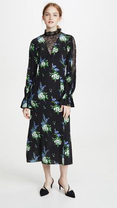 Les Rêveries Lace Inset Victorian Dress
