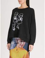 Undercover Anti SNS cotton-jersey sweatshirt