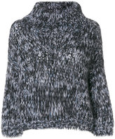 Brunello Cucinelli roll neck knitted sweater - women - Polyamide/Cashmere/Mohair/Wool - S
