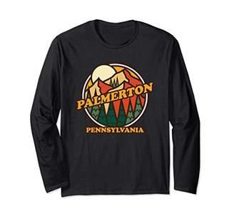 Vintage Palmerton Pennsylvania Mountain Hiking Souvenir Prin Long Sleeve T-Shirt
