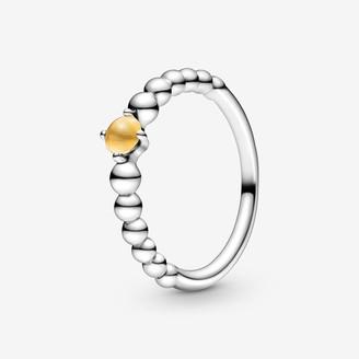 Pandora November Birthstone Beaded Ring