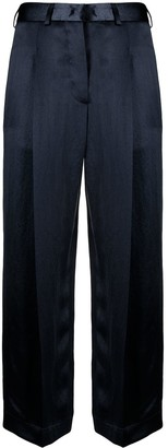 Jejia Satin-Finish Tailored Trousers