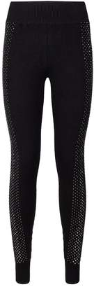 William Sharp Swarovski Embellished Leggings