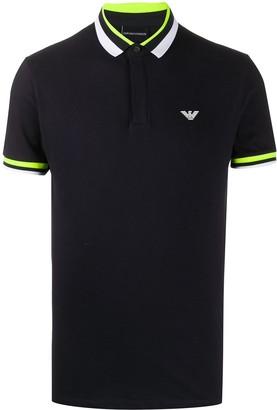 Emporio Armani Tri-Stripe Polo Shirt