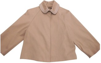 Elie Tahari Beige Cotton Jacket for Women