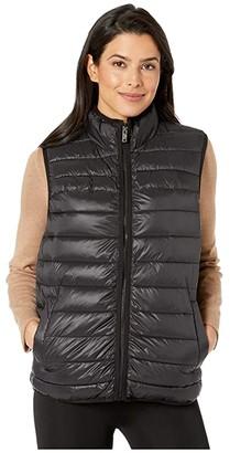 UGG Felton Puffer Vest (Black) Women's Clothing