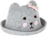 Monsoon Baby Bonnie Bear Bowler Hat
