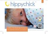 Hippy Chick Hippychick Mattress Protector Flat Sheet, 150 x 100 cm - Single, White