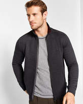 Ted Baker Quilted bomber jacket