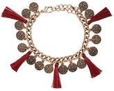 Forever 21 Tasseled Coin Bracelet
