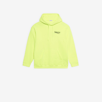 Balenciaga Political Campaign Medium Fit Hoodie