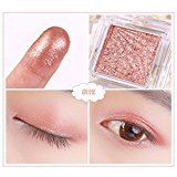 DZT1968 17 Single Color Water-Resistant Makeup Eyeshadow Palette Shimmer Matte Eye Shadow Cosmetics Beauty New (L)