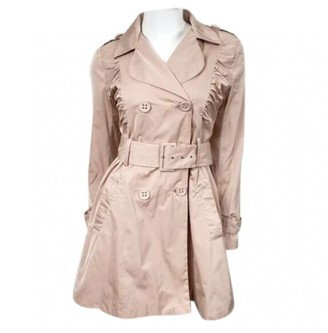 Max Mara Pink Trench Coat for Women