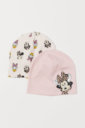 H&M 2-Pack Jersey Hats