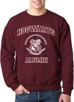 New Way 129 - Crewneck Hogwarts Alumni Harry Potter Unisex Pullover Sweatshirt