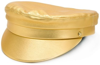 Manokhi Metallic Baker Boy Hat