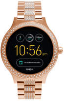 Fossil Q Venture Rose Gold-Tone Smart