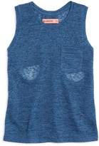 Blank NYC Blanknyc Girls' Sheer Pocket Tank