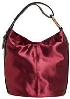Violeta BY MANGO Satin hobo bag